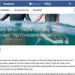 facebook Travel ads