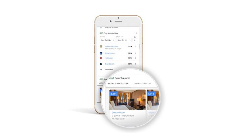 Google Hotel Booking